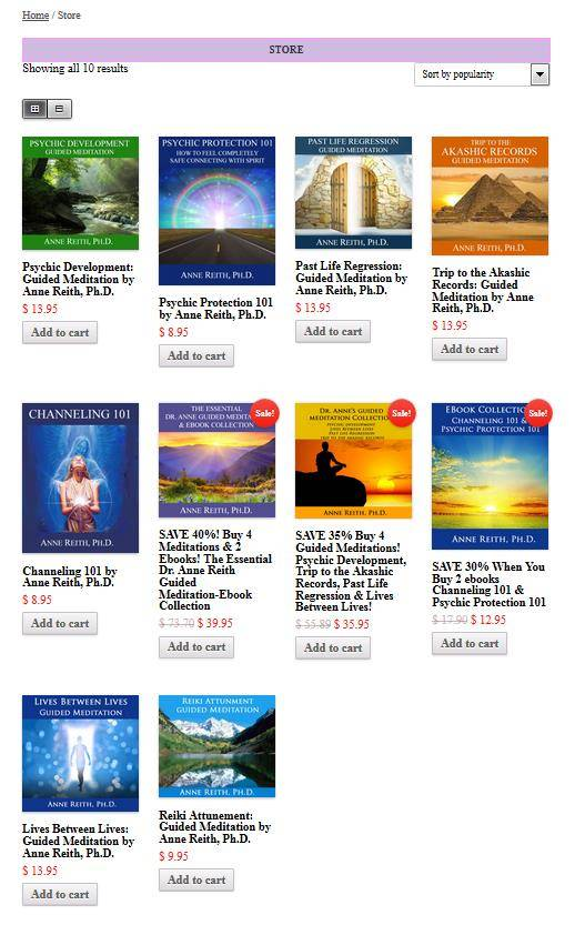 Online Metaphysical Store |