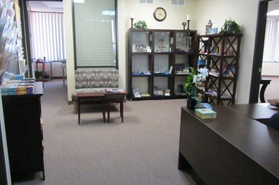 Reception Area of Impart Wisdom & Wellness Center