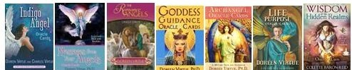 Oracle Card decks available at center (4)